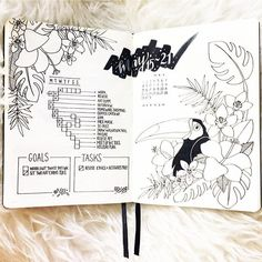 This #weeklyspread from @bujowithbecky is #todiefor #Repost @bujowithbecky ・・・ Although I absolutely adored last months 'beautiful wilderness' weekly spreads.. I have once again changed up my weekly layout.. . . I've decided to create a running task list