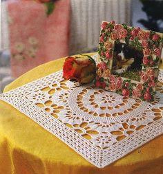 BethSteiner: Toalha quadrada de crochê