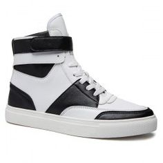 f65a57753c4d Casual PU Leather Lace-Up Boots - WHITE Mens Boots Fashion