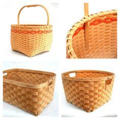 Mi'kmaq made, black ash baskets Baby Baskets, Native Art, Basket Ideas, Nova Scotia, Ancestry, Basket Weaving, Nativity, Ash, Native American