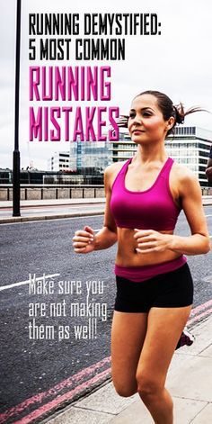 5 most common running mistakes. #runningmistakes #runningtips #runningadvice