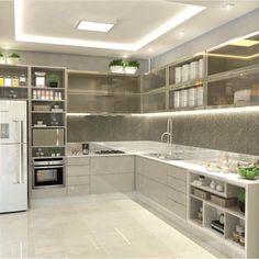 Cozinha por Carol Cantelli - design Milton C. Junior - arquiteto Dourados | MS