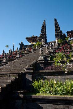 Pura Besakih main gate, Bali, Indonesia