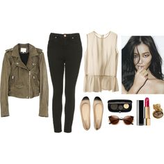 A fashion look from February 2013 featuring H&M tops, Topshop jeans and Reed Krakoff flats. Browse and shop related looks.