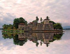 The Castillo de San Felipe de Lara (often referred to simply as the Castillo de San Felipe) is a Spanish colonial fort at the entrance to Lake Izabal in eastern Guatemala.