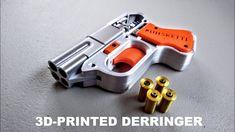 Survival Rifle, 3d Printed Objects, 3d Design, Design Files, 3d Prints, Self Defense, Hand Guns, Barrel, Toys