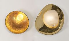 Saturn Oyster Achille Salvagi sconce