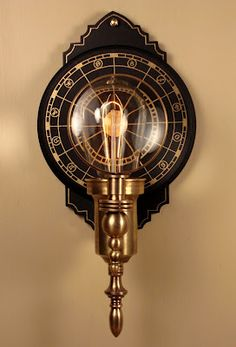 The Steampunk Home - Lighting