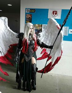Avacyn from Magic: the Gathering