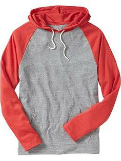 Men's Lightweight Color-Block Hoodies | Old Navy