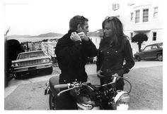 Jacqueline Bisset, Photographic Film, Steve Mcqueen, Mc Queen, Actors, Black And White, Couple Photos, Photography, Thoughts