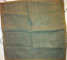 """Pillow Cover William Sonoma Large Woven Sik Brown  23"""" x 23."""""""