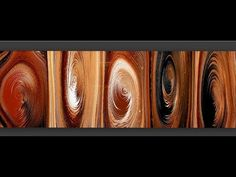 # 179 Timber Look Ring Pours Diy Wall Painting, Pour Painting, Acrylic Pouring Art, Acrylic Art, Flow Arts, Alcohol Ink Painting, Fluid Acrylics, Canvas Art, Large Canvas