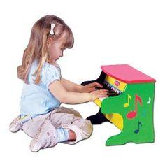 Melissa & Doug Learn-to-Play Piano. I want this Piano!!!