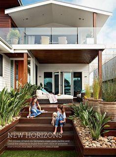 Ideas For House Modern Facade Decks Facade Design, Architecture Design, House Design, Outdoor Rooms, Outdoor Living, Facade House, House Facades, House Exteriors, Exterior House Colors