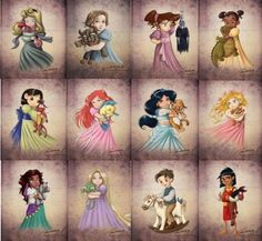 Child Princesses
