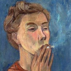 Tove Jasson Self Portrait (Detail) - Tove Jansson 1940 Finnish Nemo, Tove Jansson, Art Graphique, Portrait Inspiration, Portrait Art, Figurative Art, Oeuvre D'art, Les Oeuvres, Art Inspo