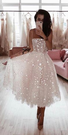 princess pink tea length prom dresses, spaghetti straps party dresses for teens,. - - princess pink tea length prom dresses, spaghetti straps party dresses for teens, chic a line senior prom dresses Source by marenmarn Senior Prom Dresses, Cute Prom Dresses, Elegant Dresses, Beautiful Dresses, Sexy Dresses, Dress Prom, Summer Dresses, Prom Dresses For Teens, Casual Dresses