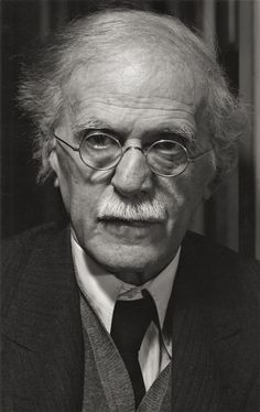 Alfred Stieglitz, Photographer, partner of Georgia O'Keefe;  New York, ca 1935 -by Ansel Adams.