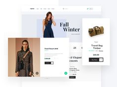 E-commerce Landing by Faria