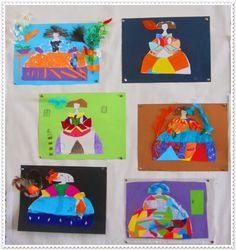 EL QUINTO NIVEL: Las Meninas de Velázquez. Alternativa (I) Diy And Crafts, Crafts For Kids, Arts And Crafts, 4 Kids, Art For Kids, Projects For Kids, Art Projects, Spain Culture, Artist Project