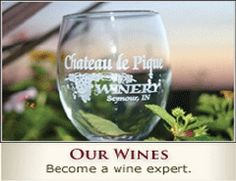 Chateau de Pique Winery - Seymour, Indiana