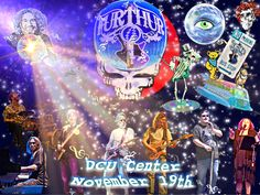 Furthur show at the DCU Center in Worcester, MA Fall 2010. Good times