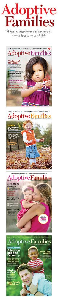 A great magazine for adoptive families