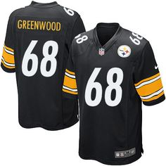 Nike Steelers Larry Foote Black Team Color Mens NFL Elite Jersey And nfl  jersey number trivia 4efe0b5f8