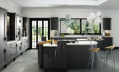 One of the Kitchen Ranges from Kitchens Direct NI