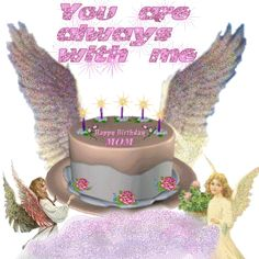 Happy Birthday Mom In Heaven | Birthday Quotes Comments, Graphics and Greetings Codes for Orkut ...