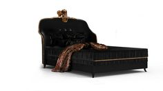 You can always rely on KOKET to push the limits with design. With the debut collection of beds the Forbidden Kiss embodies all that is sultry seductive. 20 Modern Luxury Beds 20 Modern Luxury Beds 6 Top 20 Luxury Beds for Bedroom 11 Black Bedroom Furniture, Gold Furniture, Luxury Furniture, Trendy Bedroom, Modern Bedroom, Feminine Bedroom, Bedroom Colors, Room Decor Bedroom, Bed Room