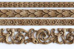 27 Ideas for wood paneling design moldings Pillar Design, Wood Design, Wood Carving Designs, Banquettes, Ceiling Design, Wooden Doors, Wood Paneling, Wood Art, Wood Crafts