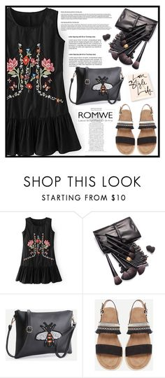 """ROMWE 5"" by merisa-imsirovic ❤ liked on Polyvore featuring WithChic"