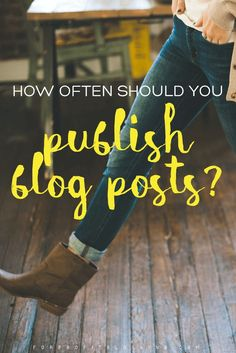 It's a common question: how often should you publish blog posts? And the answer is easier than you might think.
