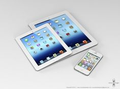 """A report from Rene Ritchie says Apple plans to release a brand-new """"mini iPad"""" when it launches the iPhone 5 in September. Even though most people can assume a """"mini iPad"""" would be able to do Apple Iphone 5, New Iphone, Apple Ipad, Ipad Mini, T Mobile Phones, Smartphone, Mobile Technology, Latest Technology, Consumer Technology"""