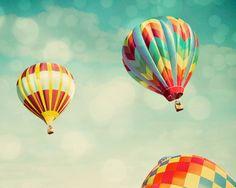 Perfect Dream Photography | Perfect Dream - Hot Air Balloons Art Print by Tricia McKellar ...