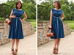 DIY '50s dress.