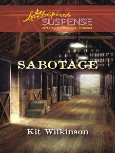 Sabotage (Love Inspired Suspense) - Kindle edition by Kit Wilkinson. Religion & Spirituality Kindle eBooks @ Amazon.com. #emptyshelf book 141