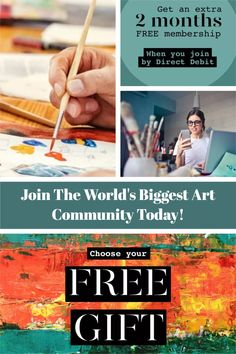 Fred Thompson, World's Biggest, Community Art, Painters, Art Lessons, Creative Art, Flower Art, Wealth, Join