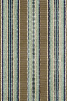 """Dash and Albert Rugs- """"Blue Heron Stripe"""" - 100% Woven Cotton Rug- Available @ Maryland Paint & Decorating"""