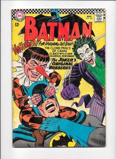 Comic Books For Sale: Batman 186