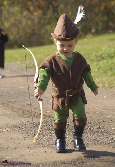 Homemade Costumes | Robin Hood - Homemade costumes for boys