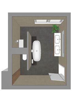 Badezimmerplanung mit T-Lösung Mehr