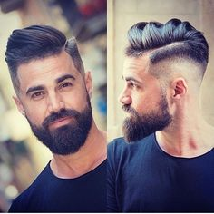 Men's Toupee Human Hair Hairpieces for Men inch Thin Skin Hair Replacement System Monofilament Net Base ( Beard Styles For Men, Hair And Beard Styles, Undercut Hairstyles, Cool Hairstyles, Latest Hairstyles, Hipster Hairstyles, Classic Hairstyles, Bart Styles, Beard Fade