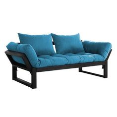 fresh futon futon and mattress finish  blue zeal deluxe daybed dark wood base   daybed modern colors and      rh   pinterest