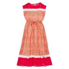 Speechless® Chevron Print Maxi Dress - Girls 7-16  found at @JCPenney