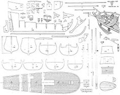 Quinze marins sur le bahut du mort…: Plan Hollande Yacht… – Now YOU Can Build Your Dream Boat With Over 500 Boat Plans! Model Ship Building, Boat Building Plans, Make A Boat, Build Your Own Boat, Model Sailing Ships, Model Ships, Boat Drawing, Black Pearl Ship, Model Boat Plans