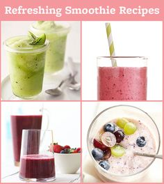 Keep cool with 17 of our delicious smoothie recipes! See the collection here: http://www.bhg.com/recipes/drinks/smoothies/smoothie-recipes/