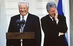 Yeltsin and Clinton